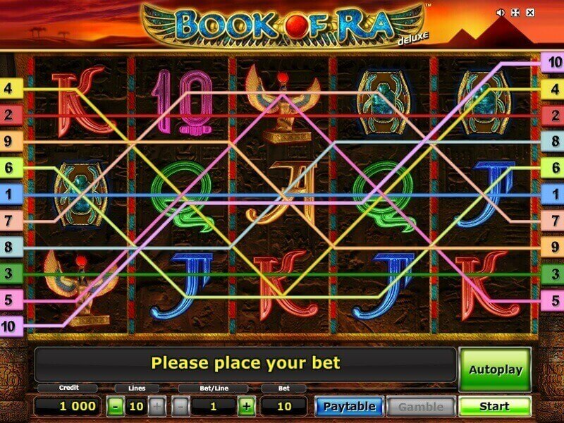Book of Ra deluxe play online for free