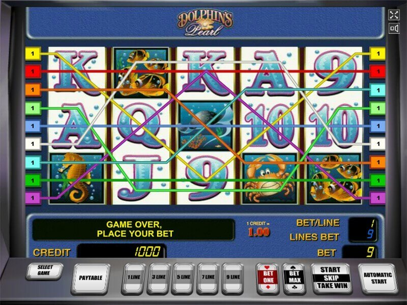 dolphin pearl slot free play
